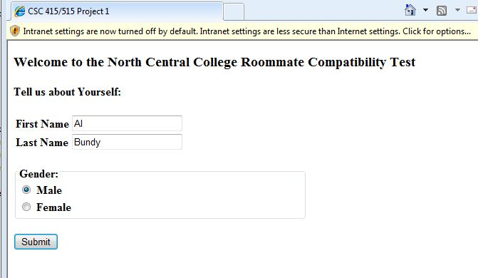 college roommate compatibility test